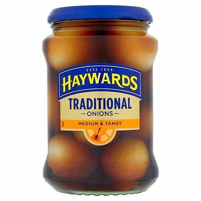 Haywards Medium & Tangy Traditional Onions 400g