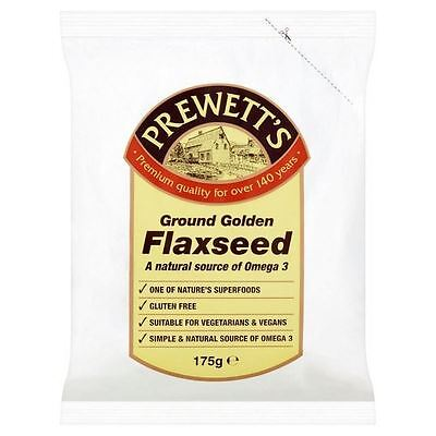 Prewetts Ground Golden Flaxseed 175g
