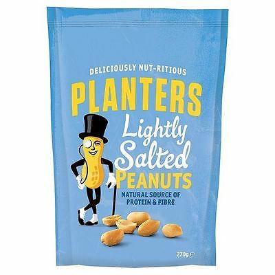 Planters Lightly Salted Peanuts 270g