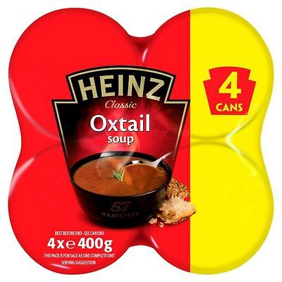 Heinz Classic Oxtail Soup 4 Pack 4 x 400g