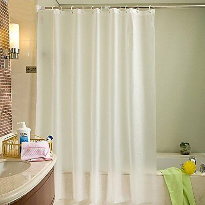 LikeYou Standard Size Eco-friendly PEVA Shower Curtain Mold Proof