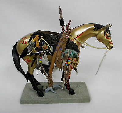 The Trail of Painted Ponies 2004 MEDICINE HORSE #1549 Horse Figurine Westland