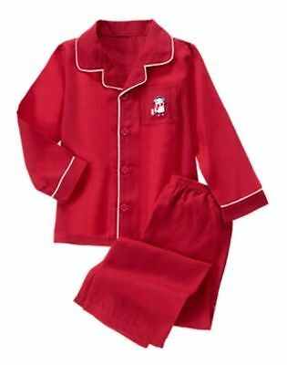 NWT Gymboree Holiday Red Penguin Fleece Pajamas Set 12 18mo 4 5/6 7/8 boy/girl