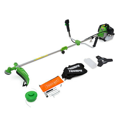 Triumph Big Horn 52cc 1.6HP 2in1 Petrol Brush Cutter Grass Trimmer EBAY SALE