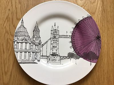 Poole Pottery Cities In Sketch Plate