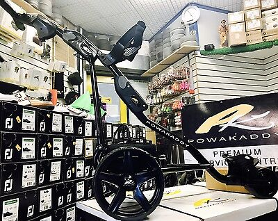 Powakaddy Freeway 2013 Full Package New Battery/charger All Black Great Cond