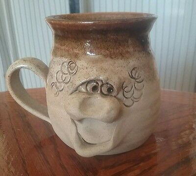 pretty ugly pottery,mug from Wales ,3.5ins/6cm