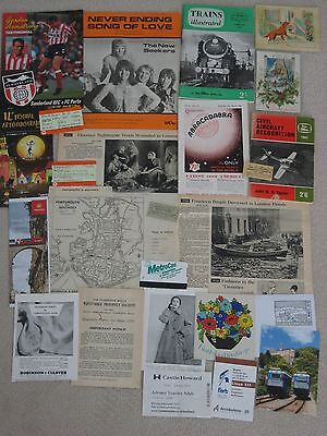 Ephemera Lot  - 25 items