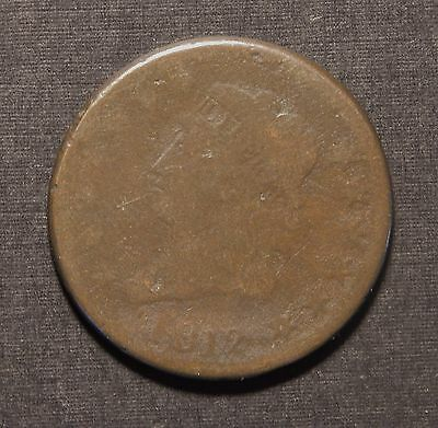 1812 Large Cent -- Very Good Details