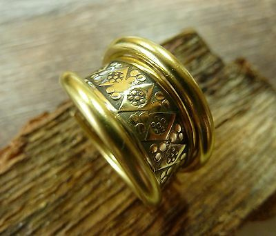 Antique Hand Crafted Bronze Viking Ring 12,26 gr.