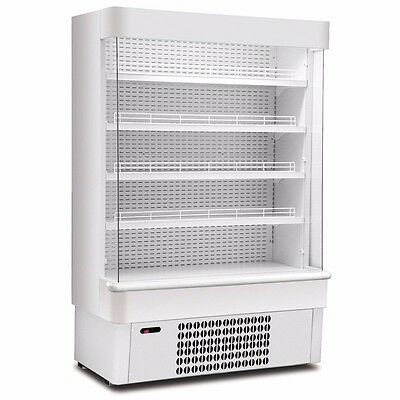 Commercial Open Front Reach In Chiller Fridge. Framec 14SL
