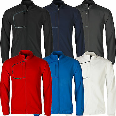 Mens Windbreaker Jacket Lightweight Showerproof Top Running Sports Coat Zip Lot