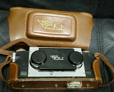 Vintage David White Stereo Realist Camera With Case And Strap 1947