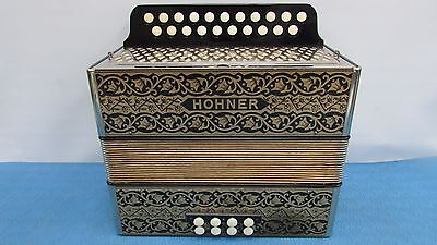 AMAZING N/M Accordion Hohner Diatonic Pokerwork 2815 Base Button Key AD Germany
