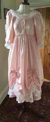 Vintage Victorian Style Pink Bridesmaid Dress