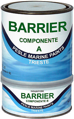 Marlin - Two-component Epoxy Resin Barrier Transparent 5lt - Code: 461COL564