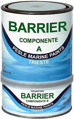 Marlin - Two-component Epoxy Resin Barrier Transparent 0.75 lt - Code: 461COL565