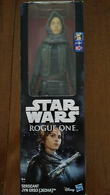 Star Wars Rogue One, figura 30 cm Sargento Jyn Erso