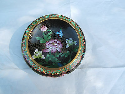 Attractive Vintage Cloisonne Bowl in Very Good Condition