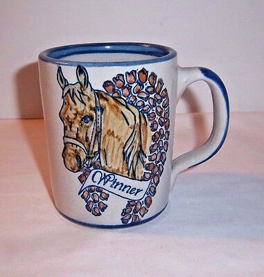 Horse Race Winner Mug Rose Wreath Louisville Stoneware Racing Champion Pottery