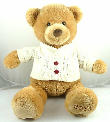 "2013 Gund Bear Nate # M51013 Plush Collectible Teddy Bear  17 "" Long"