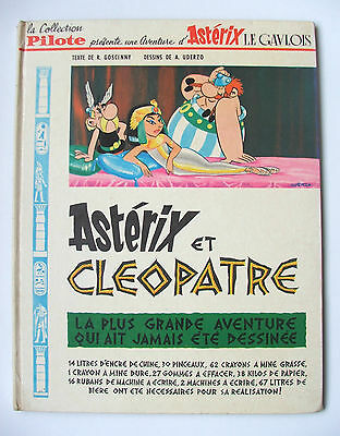 Astérix & Cléopatre / Dargaud / Collection Pilote / Édition Originale 548 / 1965