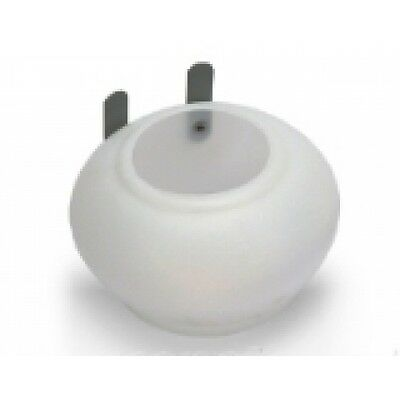 Pigeon Product - Drinker/Feeder for pigeons - White Plastic Round Cup