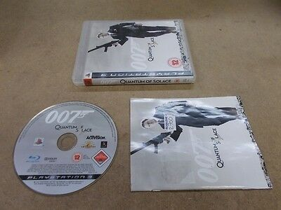 PS3 Spiel James Bond 007 Quantum Solace / Trost Sony PlayStation 3 Game in OVP