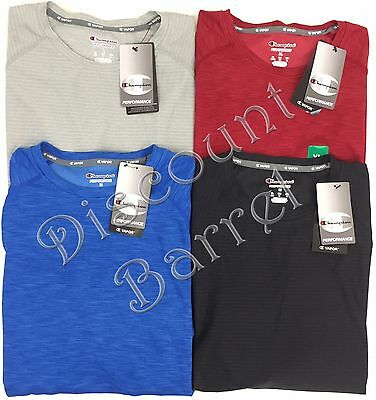 New Champion Men's Short Sleeve Performance Shirt Variety Moisture Wicking