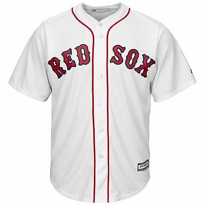 MLB Baseball Trikot BOSTON RED SOX weiß white Cool base Majestic Jersey
