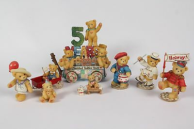 REDUCED Cherished Teddies 99 Member Float, Lanny, Vivienne, Walter, Letty & more