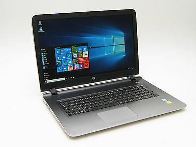 HP Pavilion 17-g111ng Intel i7-6500U 16GB RAM 1TB HDD GeForce 940M Full-HD OVP