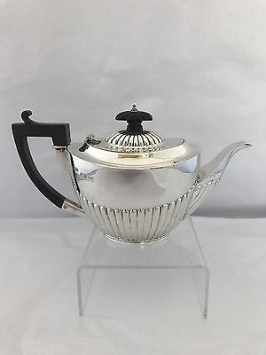 Sterling Silver Edwardian Tea Pot CHESTER 1900 John Millwood Banks