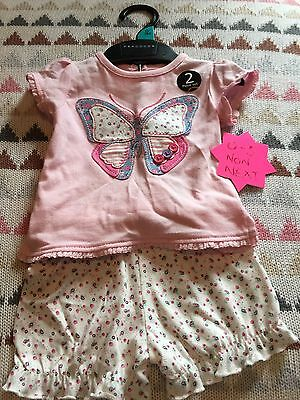 Baby Girls Summer Outfit BNWT 0-3m
