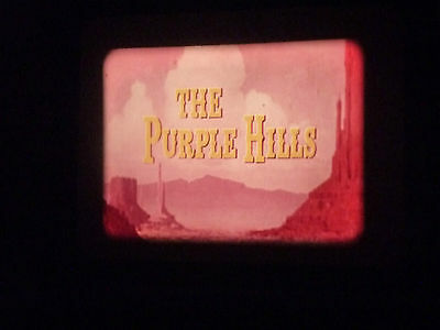 THE PURPLE HILLS 16mm feature film 1961
