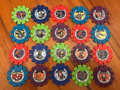 Woolworths..marvel Super Heroes Discs...$1 Each...complete Your Set...woolies