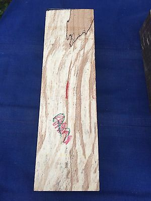 Spalted beech turning blank / carving block