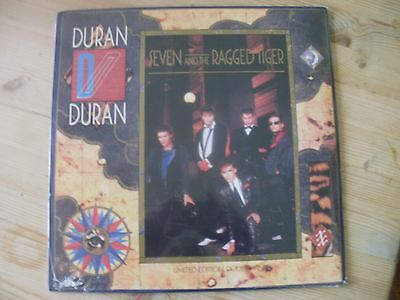 Duran Seven And The Ragged Tiger Double Vinyl Lp New+ Sealed