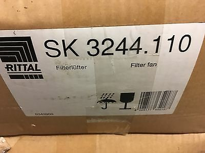 """Rittal Cabinet Cooling Axial Fan 115V 12-4/5X12-4/5""""  Sk-3244-110 New"""
