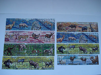 Republique Republic Du Burundi Lot Of 32 Stamps Wild Animals Used Vintage