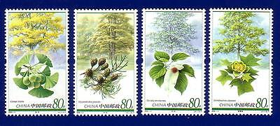 China 2006-5 Plants of Relic Species Tree Stamp Set MNH !