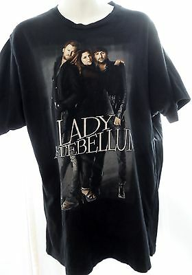 Lady Antebellum 2010 Concert Tour 'Need You Now' Anvil Brand SIze L 100% Cotton