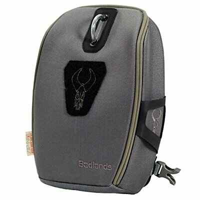 NEW Badlands Optics Mag Bino Case with Backpack-Friendly Shoulder Harness (Gray)