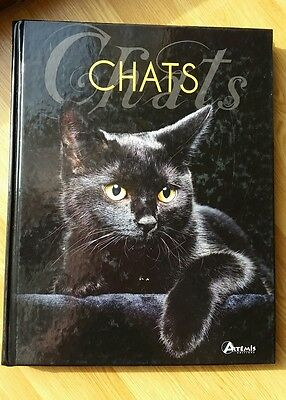LIVRE : CHATS  photos et explication ARTEMIS ILLUSTRATION
