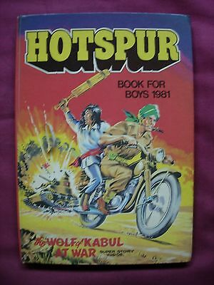 Hotspur Book for Boys Comic Annual 1981 Unclipped D.C. Thomson VFN