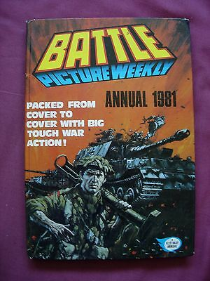 Battle Picture Weekly Annual 1981 UK Annual Fleetway unclipped VFN