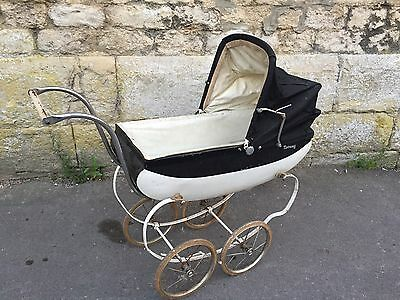 Old Doll Baby Pram Carriage Triang