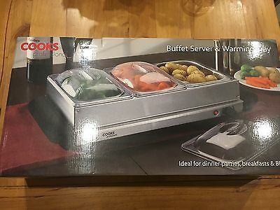 Cooks Professional Buffet Server & Warming Tray