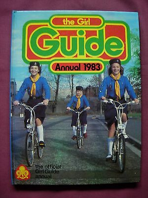 Official Girl Guide Annual 1983 Unclipped World International VFN++