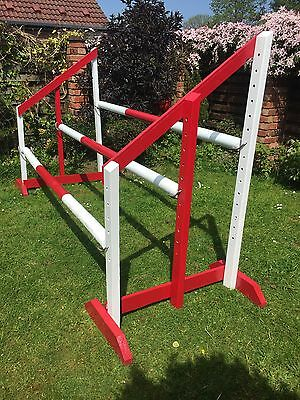 Triple Spread/Jacobs Ladder 5ft Show Jump Wings With 3 Poles/pairs Of Cups